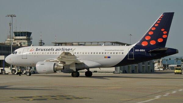 Samolot linii lotniczych Brussels Airlines - Sputnik Polska