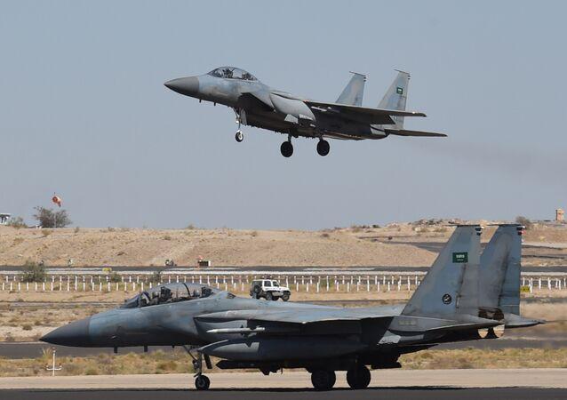 Saudische F-15-Kampfflugzeuge