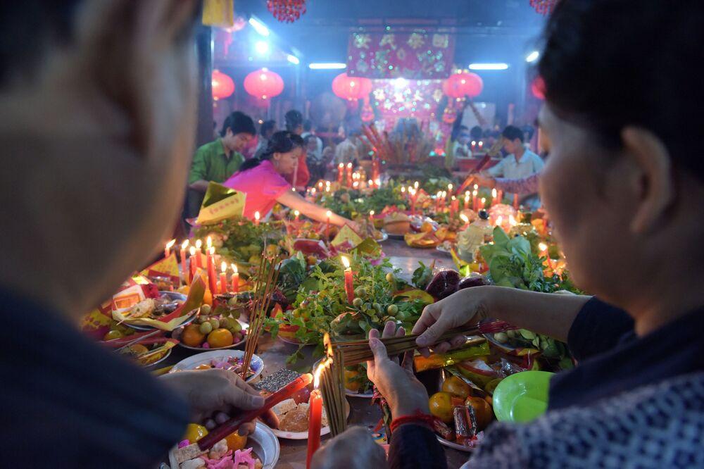 Nowy Rok w Kambodży