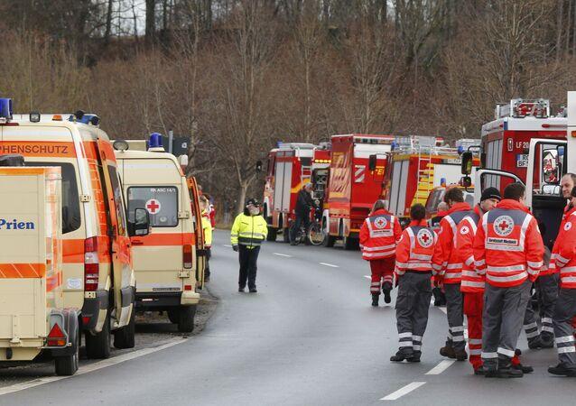 Katastrofa kolejowa w Oberbayern