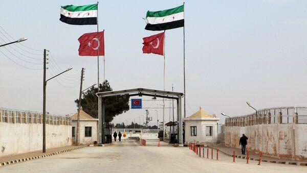 Granica syryjsko-turecka, prowincja Aleppo - Sputnik Polska