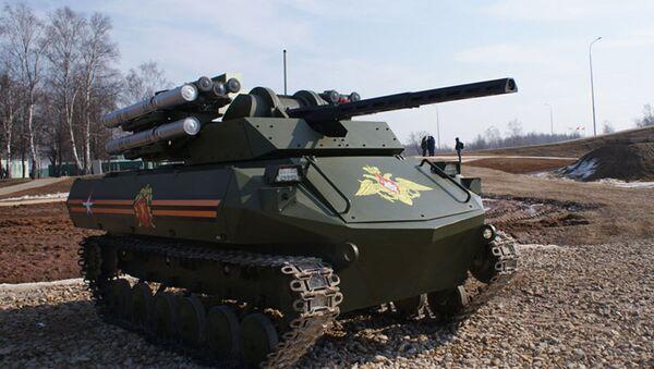 """Wielofunkcyjny robot """"Uran-9"""" - Sputnik Polska"""