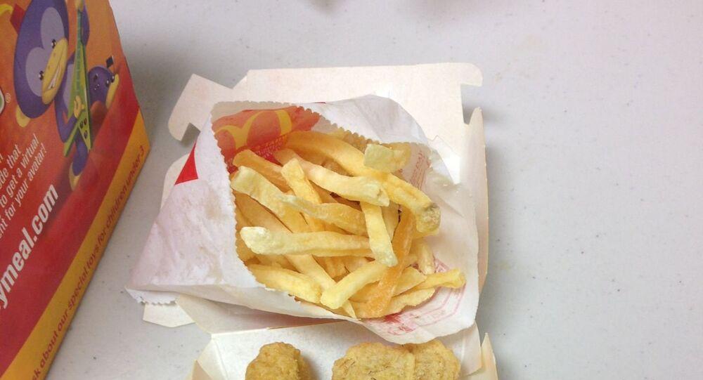 Jedzenie z McDonalda nie zepsuło się w ciągu 6 lat!
