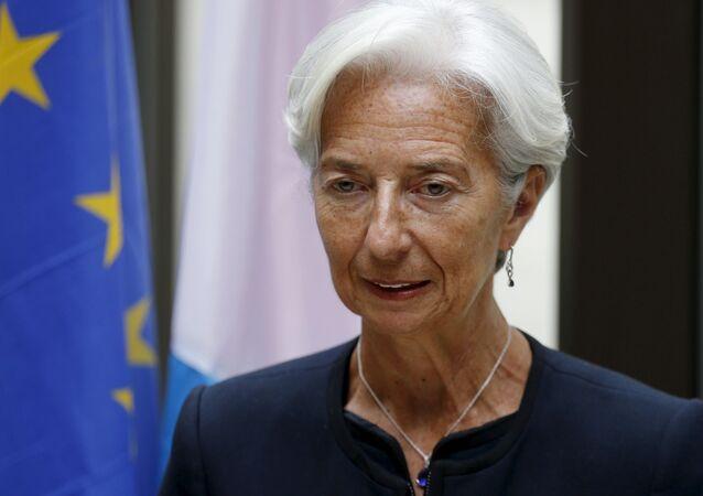 Dyrektor zarządzający Międzynarodowego Funduszu Walutowego (MFW) Christine Lagarde
