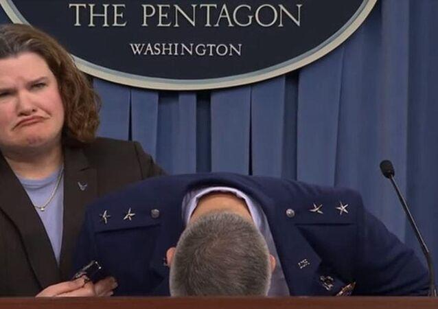 """Do Czego F-35 """"doprowadził"""" generała sił powietrznych USA"""