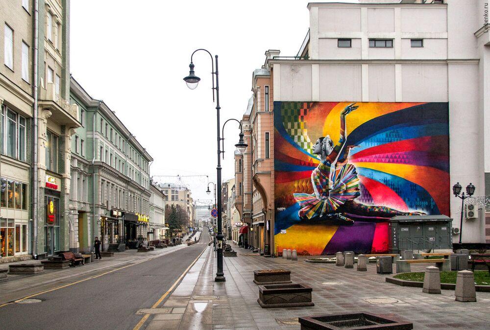 Rosyjska balerina - Moskwa