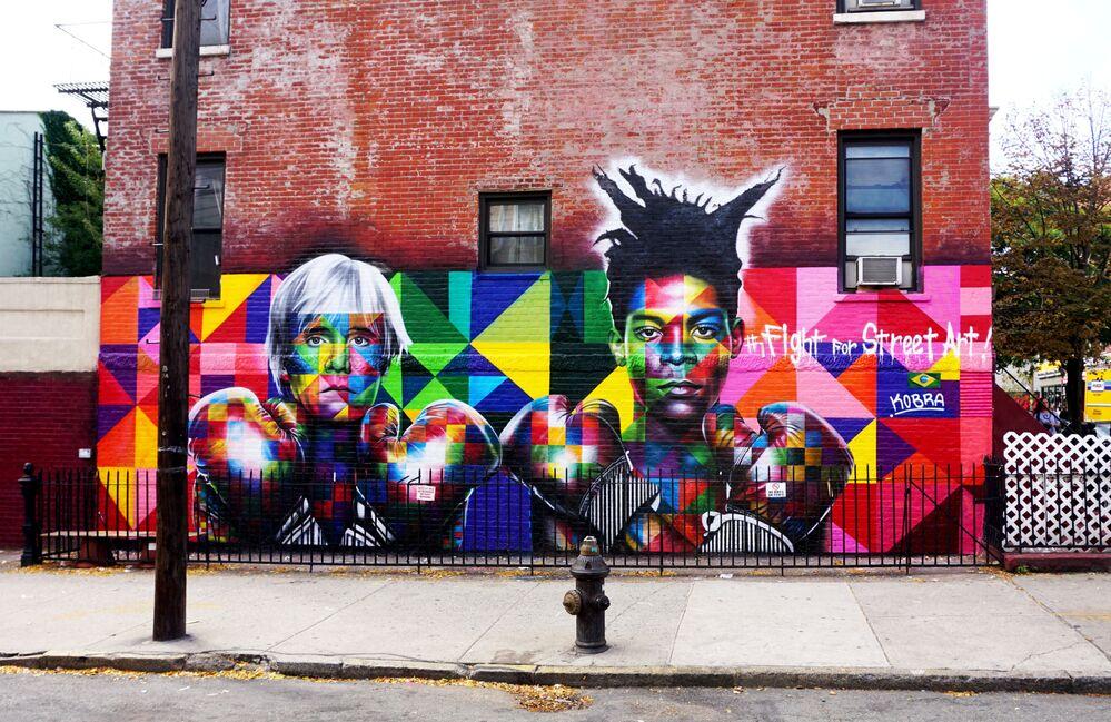 Andy Warhol, Jean Michel Basquiat - Brooklyn, Nowy Jork