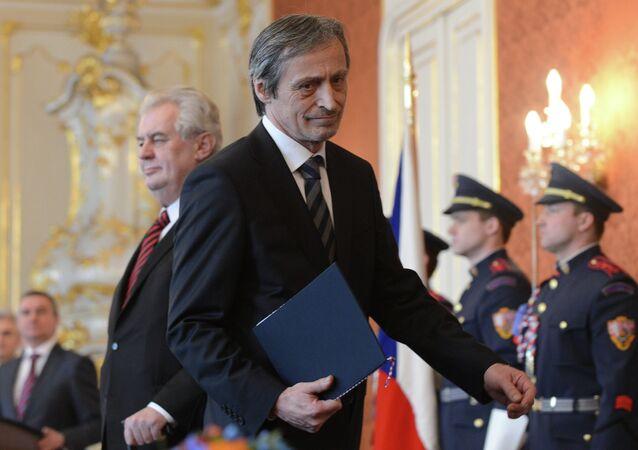 Minister obrony Czech Martin Stropnický