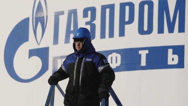 Pracownik Gazpromu w Chanty-Mansyjskim Okręgu Autonomicznym - Sputnik Polska