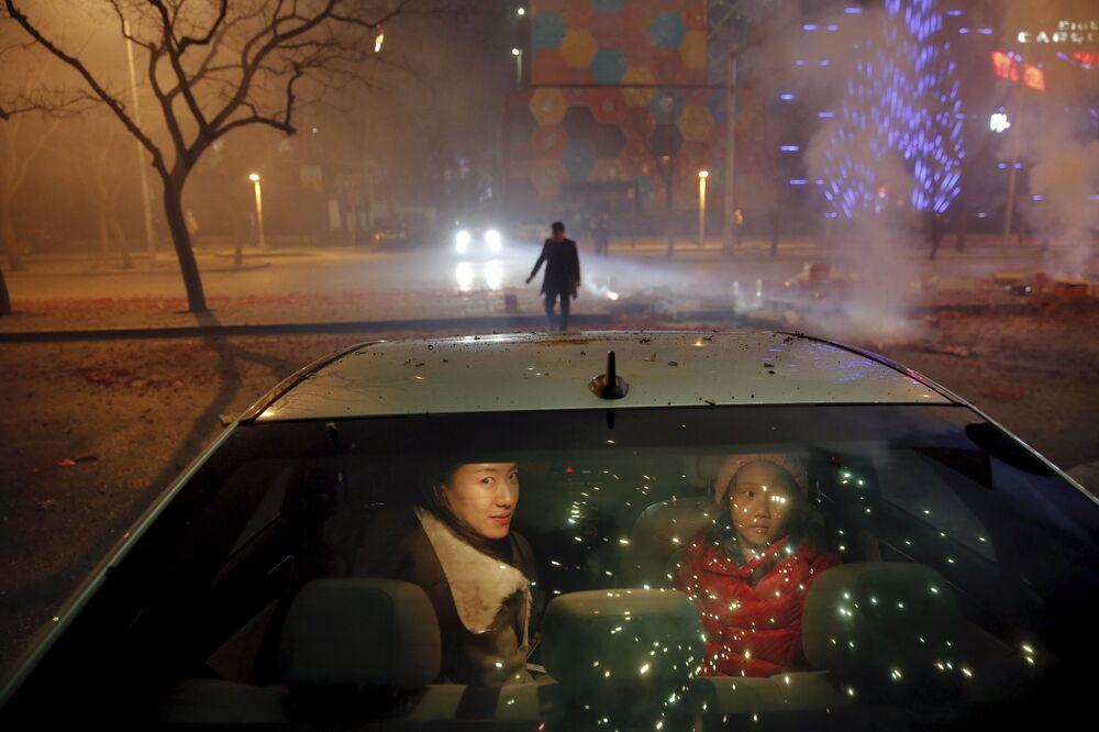 Obchody Chińskiego Nowego Roku w Pekinie