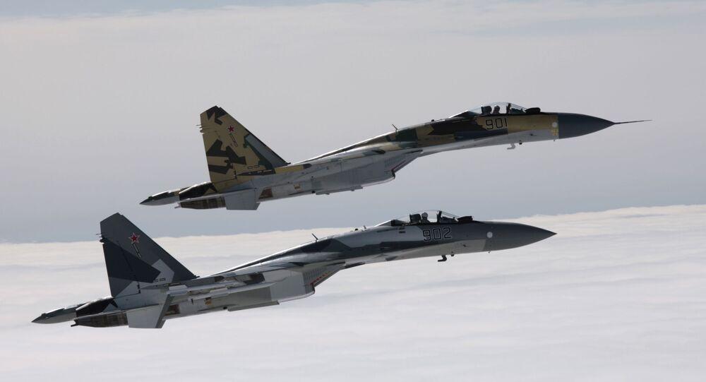 Myśliwce Su-35