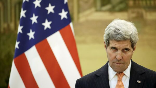 Sekretarz stanu Stanów Zjednoczonych John Kerry - Sputnik Polska