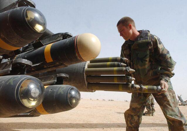 Sterowany laserowo pocisk treningowy AGM-114 Hellfire