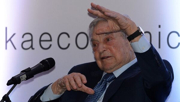 Amerykański finansista George Soros - Sputnik Polska
