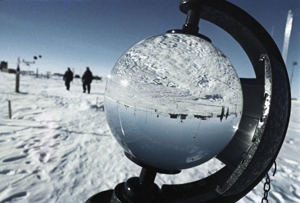 Rosyjska całoroczna stacja polarna Wostok