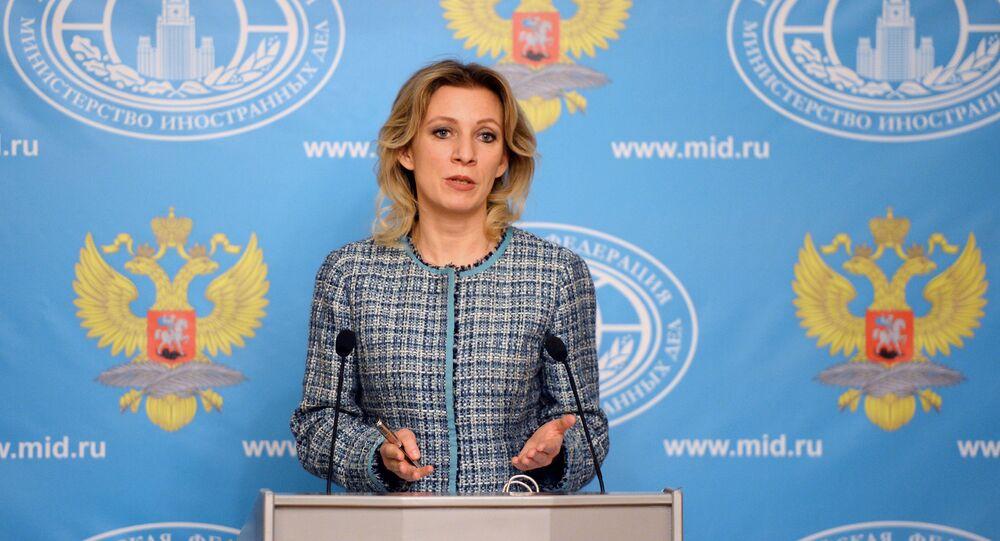 Briefing rzeczniczki MSZ Rosji Marii Zacharowej