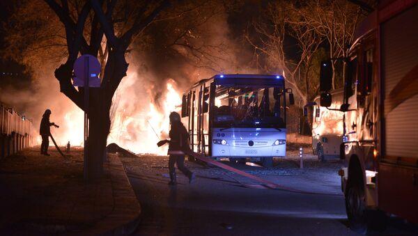 Eksplozja w Ankarze - Sputnik Polska