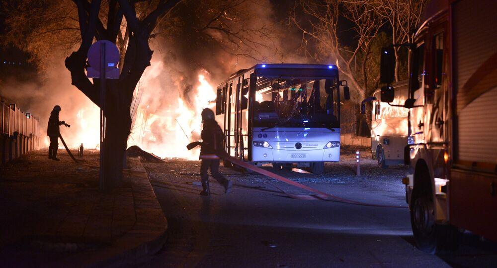 Eksplozja w Ankarze