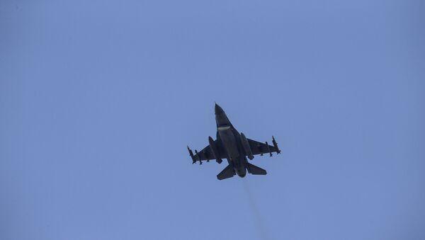 Samolot Sił Powietrznych Turcji - Sputnik Polska