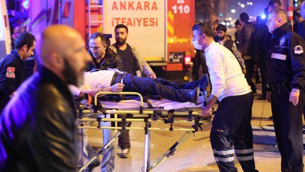 Pogotowie na miejscu eksplozji w Ankarze - Sputnik Polska
