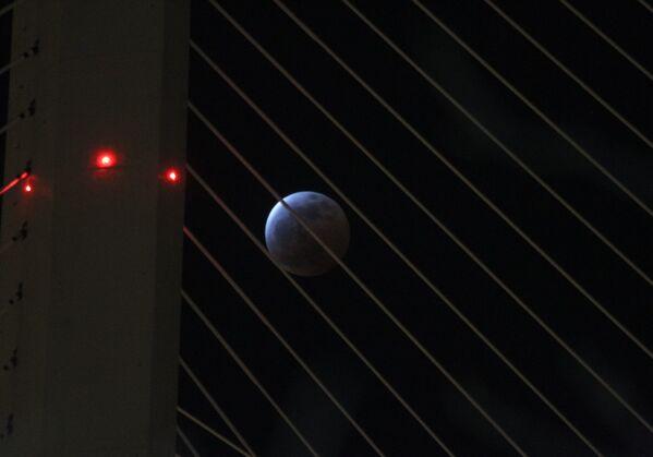 Zaćmienie Księżyca 4 kwietnia 2015, Władywostok, Rosja - Sputnik Polska