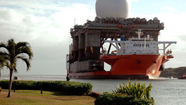 Amerykański pływający radar pasma X SBX (Sea Based X-Band) - Sputnik Polska