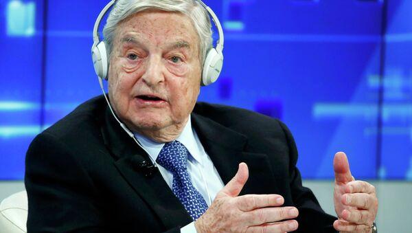 Georges Soros - Sputnik Polska