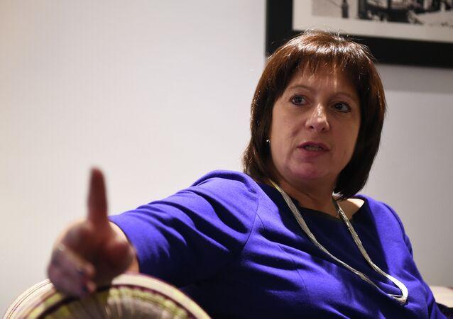 Minister finansów Ukrainy Natalia Jareśko