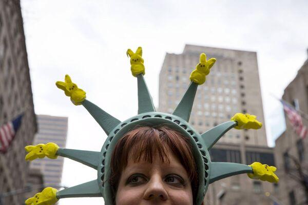 Wielkanocna parada w Nowym Jorku - Sputnik Polska