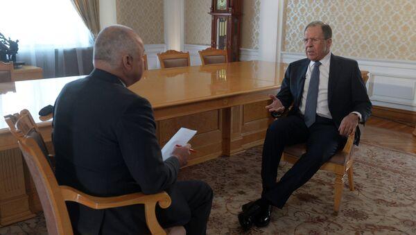 Wywiad ministra spraw zagranicznych Rosji Siergieja Ławrowa dla agencji Rossiya Segodnya - Sputnik Polska