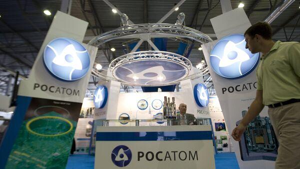 Stoisko Państwowej Korporacji Rosatom - Sputnik Polska