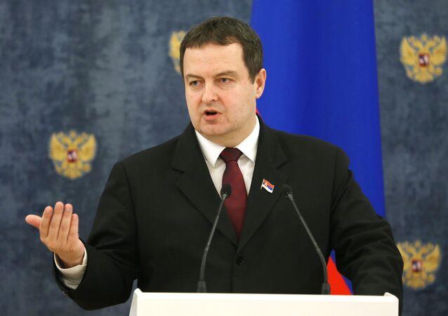 Minister Spraw Zagranicznych Serbii Ivica Dačić