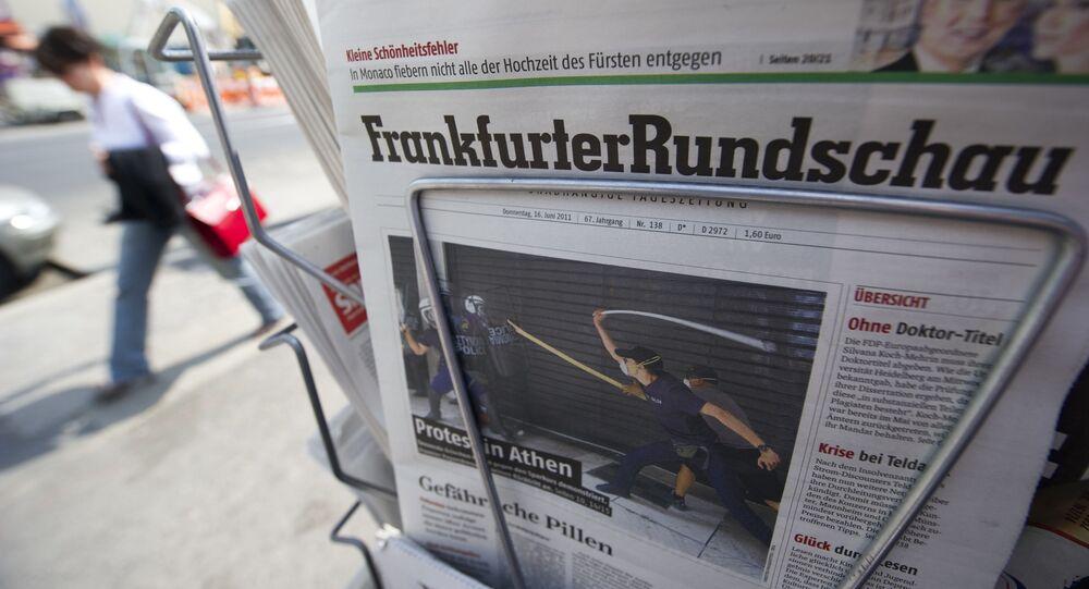 Niemieckie gazety