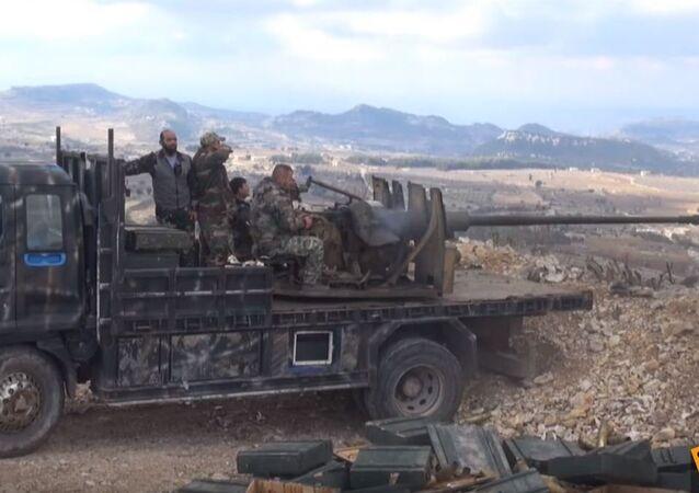 Syryjska armia wyparła islamistów z ostatniego punktu oporu w Latakii