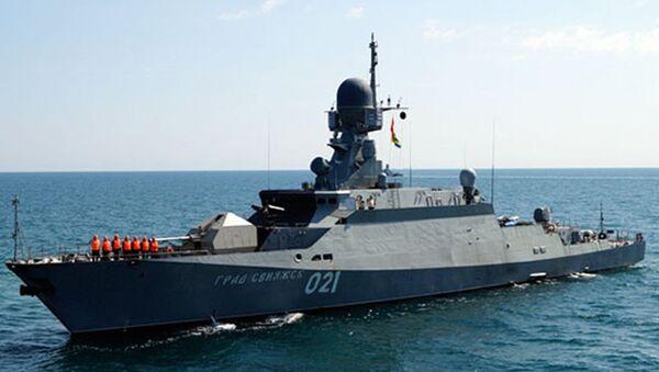 """Małe okręty rakietowe projektu 21631 (kod """"Buyan-M) - Sputnik Polska"""
