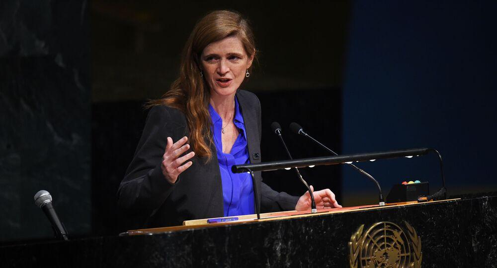 Stały przedstawiciel Stanów Zjednoczonych przy ONZ Samantha Power
