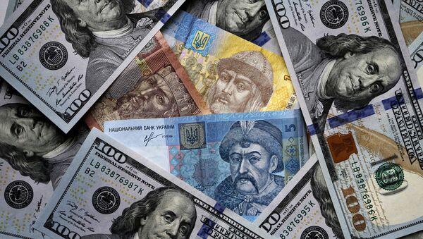 Ukraina przeciwko spłacie długu - Sputnik Polska