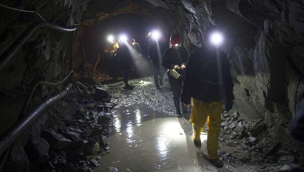 Bieriezowska kopalnia złota w obwodzie swierdłowskim - Sputnik Polska
