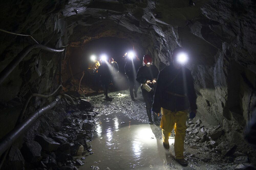 Bieriezowska kopalnia złota w obwodzie swierdłowskim