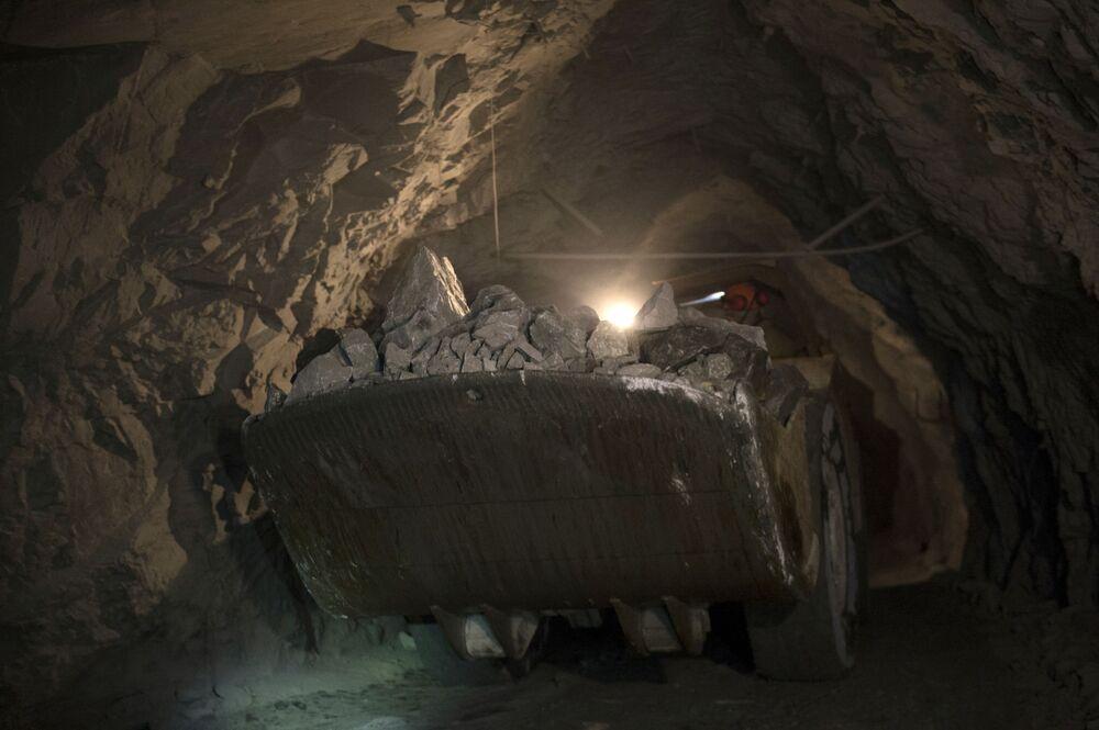 W Bieriezowskiej kopalni złota w obwodzie swierdłowskim