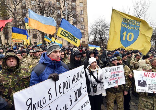Rocznica tragicznych wydarzeń z lutego 2014 r. na Majdanie w Kijowie