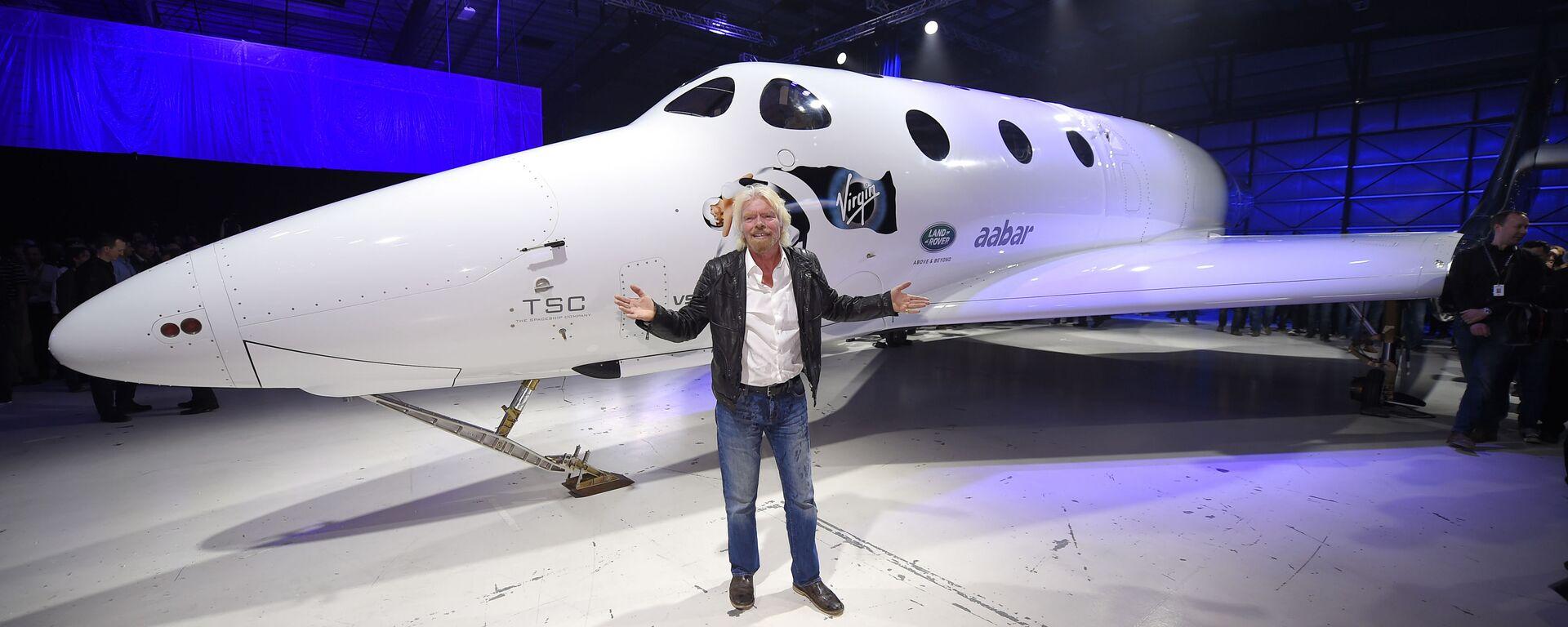 Richard Branson i nowy statek SpaceShipTwo - Sputnik Polska, 1920, 11.07.2021