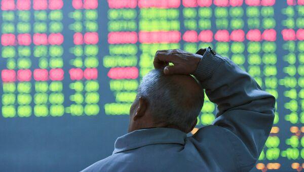 Załamanie giełdy w Chinach - Sputnik Polska