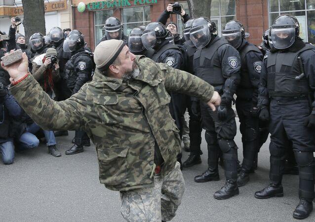 Bojkot rosyjskich banków w Kijowie
