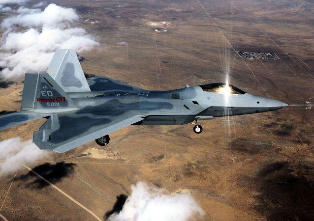 Amerykański myśliwiec F-22