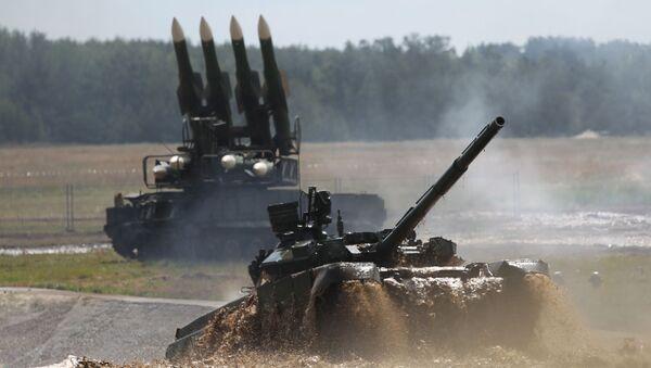 Nowy rosyjski czołg - Sputnik Polska