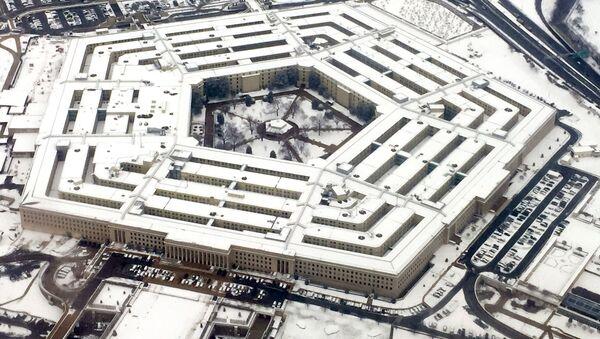 Widok na budynek Pentagonu w Waszyngtonie, USA - Sputnik Polska