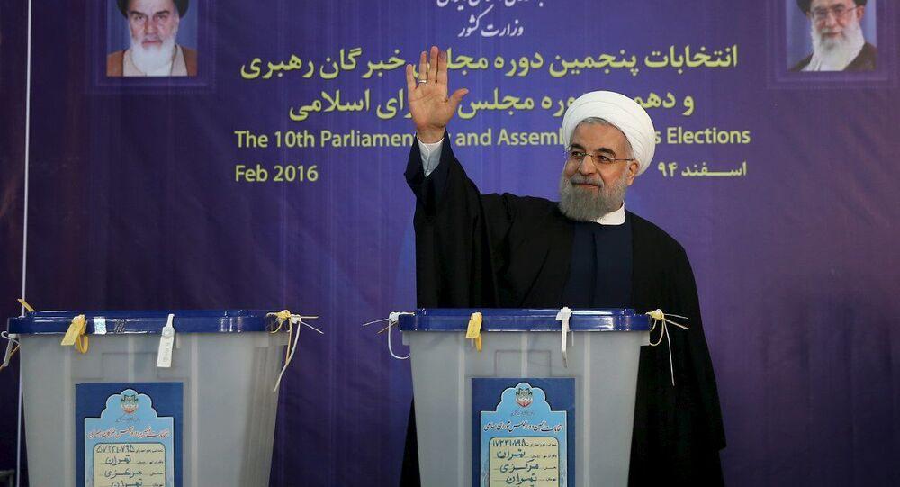 Prezydent Iranu Hasan Rouhani