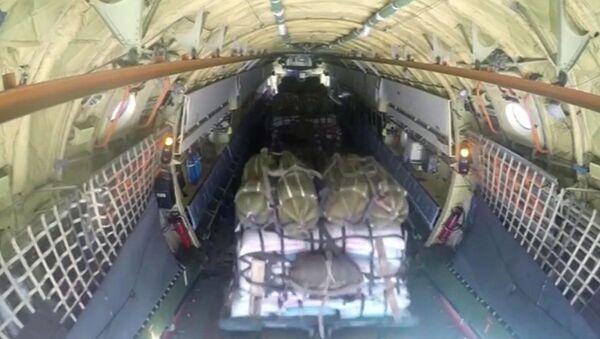 Rosja dostarcza pomoc humanitarną do Syrii - Sputnik Polska