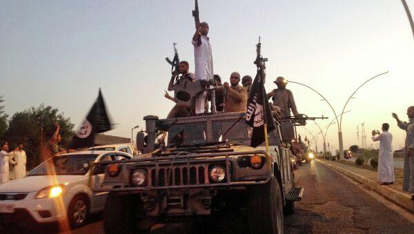 Terroryści z Państwa Islamskiego w Iraku - Sputnik Polska